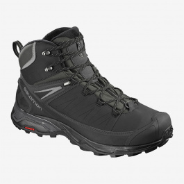 Ботинки Salomon X ULTRA MID WINTER CS WP | Black/Phantom | Вид 1