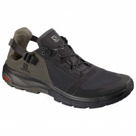 Кроссовки Salomon TECHAMPHIBIAN 4 | Black/Beluga/Castor Gray | Вид 1