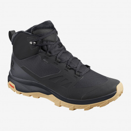 Ботинки мужские Salomon OUTsnap CSWP | Black/Ebony/Gum1a | Вид 1