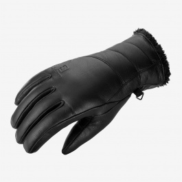 Перчатки женские Salomon NATIVE W | Black | Вид 1