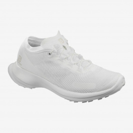 Кроссовки женские Salomon SENSE FEEL W | White/White/White | Вид 1