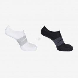 Носки Salomon SONIC 2-PACK | Black/White | Вид 1