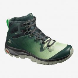 Ботинки женские Salomon VAYA MID GTX | Green gables/Spruce stone/Shadow | Вид 1