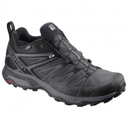 Кроссовки Salomon X ULTRA 3 GTX® | Black/Magnet/Quiet Shade | Вид 1