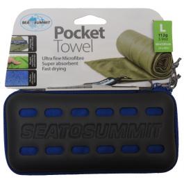 Компактное полотенце Sea To Summit Pocket Towel | Cobalt | Вид 1