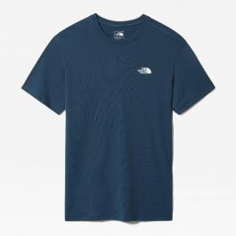 Футболка мужская The North Face M FLEX II S/S | Monterey Blue | Вид 1