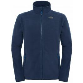 Куртка мужская The North Face M 100 GLACIER FULL ZIP   Urban Navy   Вид 1