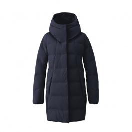 Пальто женское Descente Allterrain Element-L | Graphite Navy | Вид 1